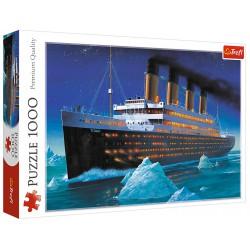 Puzzle 1000 elementów-Titanic TREFL