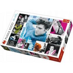 Puzzle 1000 elementów-Elvis Presley wiecznie młody TREFL