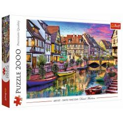 Puzzle 2000 elementów-Colmar, Francja TREFL