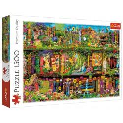 Puzzle 1500 elementów-Baśniowa biblioteczka TREFL