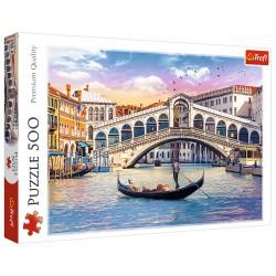Puzzle 500 elementów-Most Rialto,Wenecja TREFL