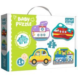 Puzzle Baby Classic-Pojazdy transportowe TREFL