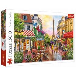 Puzzle 1500 elementów-Urok Paryża TREFL