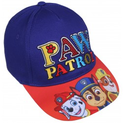 Niebiesko-czerwona czapka z daszkiem z nadrukiem  Paw Patrol