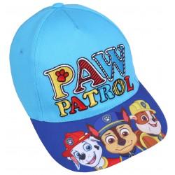 Niebieska czapka z daszkiem z motywem Paw Patrol