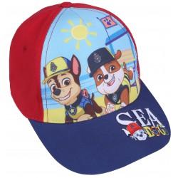 Czerwona czapka z granatowym daszkiem Psi Patrol