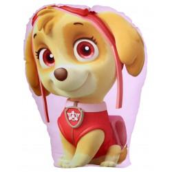 Różowa poduszka, przytulanka w kształcie SKYE Psi Patrol