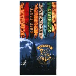 Ręcznik plażowy z motywem Hogwartu z Harrego Pottera