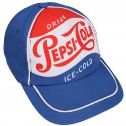 Niebieska czapka z daszkiem PEPSI-COLA
