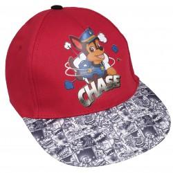 Czerwona czapka z daszkiem z nadrukiem PAW PATROL