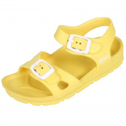 Wygodne, żółte sandałki dziecięce LEMIGO
