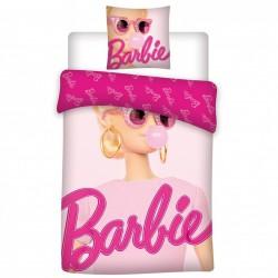Bawełniany komplet pościeli z Barbie, certyfikat OEKO-TEX