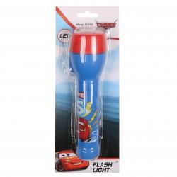 Auta niebiesko-czerwona latarka LED dla dziecka Zygzak McQueen