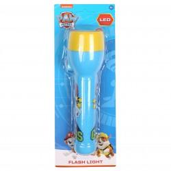 PAW PATROL Blue Yellow Torch Kids Flashlight LED