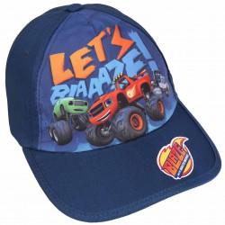 Granatowa czapka z daszkiem dla chłopca BLAZE