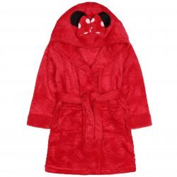 Czerwony szlafrok Myszka Mini z odzdobnym kapturem DISNEY