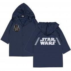 Granatowy płaszcz przeciwdeszczoowy STAR WARS