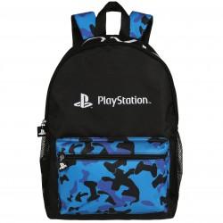Młodzieżowy, czarny plecak PlayStaton