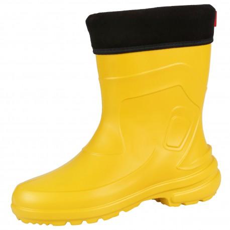 Żółte, damskie kalosze EVA JESSY LEMIGO