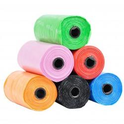 Kolorowe woreczki na odchody DINO
