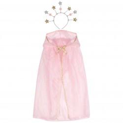 Pink Fairy Cape Hairband Costume
