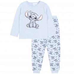 Disney Stitch Long Sleeve Light Blue Pyjamas