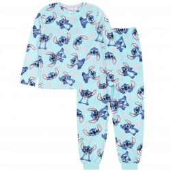 Disney Stitch Blue Hearts Pyjamas