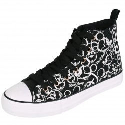 Mickey Mouse Women Ankle Sneakers Trainers