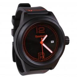 Czarny, klasyczny zegarek męski Reebok
