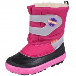 Demar Baby Sports 2 NA Child Reflective Pink Snow Boots