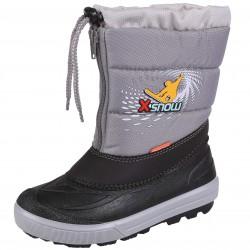 Demar Kenny 2 NC Child Warm Grey Black Snow boots Moon Boot