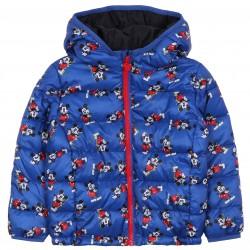 Disney Mickey Mouse Boy Waterproof Blue Jacket
