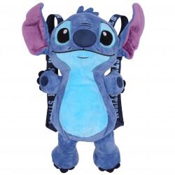 Disney Stitch Child Regulated Straps Blue Backpack Teddy Bear Cuddler