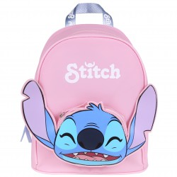Disney Stitch Rubber Regulated Straps Backpack