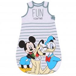 Szary śpiworek niemowlęcy do spania 2.5 tog Myszka Mickey Disney  ,certyfikat Oeko-Tex Standard 100