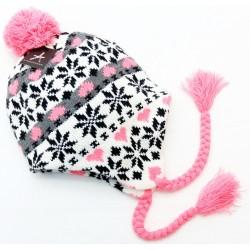 Różowa (Neon) ciepła czapka  PRIMARK ATMOSPHERE