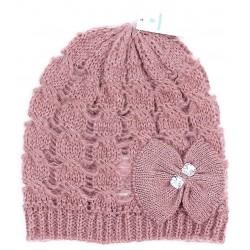 Różowa czapka z koralikami PRIMARK Atmosphere