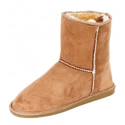 Chestnut ugg type boots